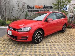 VW ゴルフヴァリアントコネクト 1オーナー 禁煙車 追従ACC RカメRセンサ