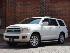 セコイアプラチナム 5,7L V8 4WD ワンオーナー 新車並行