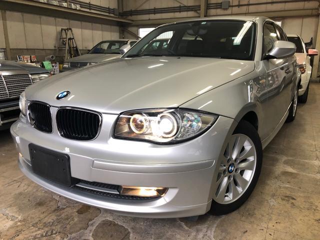 BMW 1シリーズ 116i ワンオーナー 禁煙車 走行15700km 純正HID フロント・リアフォグランプ 純正16インチアルミ ETC オートエアコン プッシュスタート 6AT FR