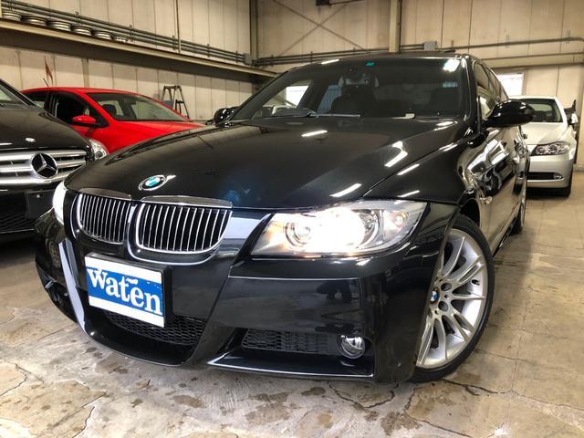 BMW 323i Mスポーツパッケージ 直6エンジン プッシュスタート チルト機構付スライディングガラスルーフ HID Mスポーツ専用純正18インチアルミホイール ミラーETC 取説・保証書・整備手帳キーレスキーX2 禁煙車