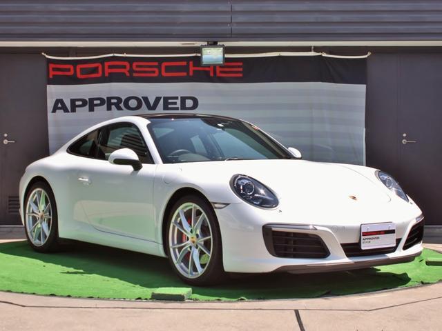 ポルシェ 911カレラS 新車保証継承 ワンオーナー サンルーフ付