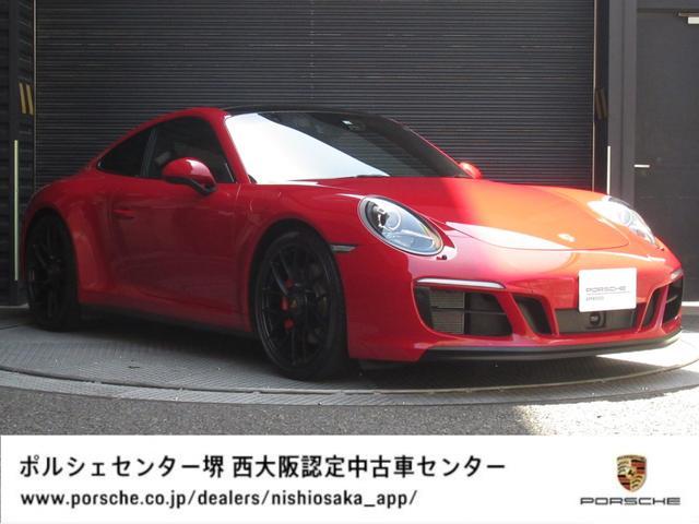 ポルシェ 911カレラGTS GTSインテリアパッケージ カーマインレッド/ACC/ガラスサンルーフ/リアアクスルステアリング/BOSE