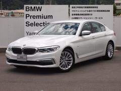 BMW523d ラグジュアリー レザー ナビ TV デモカー