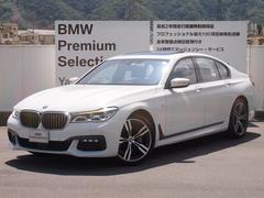 BMW740i Mスポーツ 20インチ ルーフ レザー デモカー