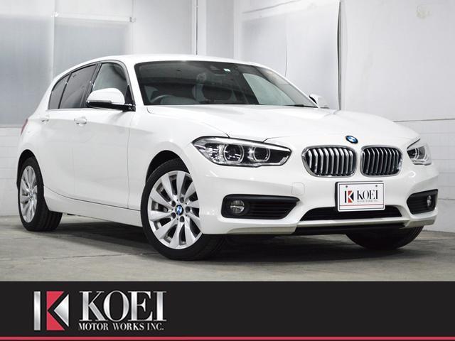 BMW 118i セレブレーションエディション マイスタイル 黒本革 禁煙車 ナビ 地デジTV バックカメラ コーナーセンサー ドライブレコーダー 衝突軽減ブレーキ クルーズコントロール シートヒーター ETC LEDヘッドライト