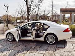 M・ベンツCLS350ダイヤモンドホワイトED150台限定デジーノ白革