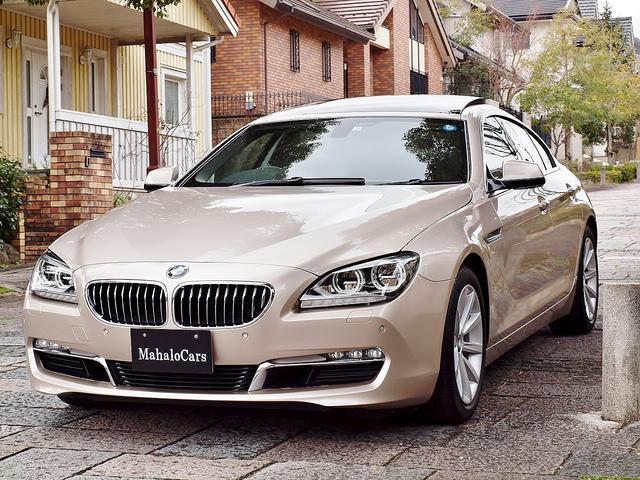 BMW 640iグランクーペ 黒革 サンルーフ ディーラー下取り車