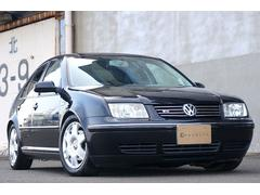 VW ボーラV5 車高調 本革シート フルセグHDD ユーザー買取