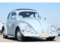 VW ビートルオーバル ラグトップ バットウィングステアリング55y