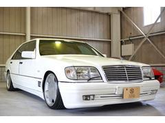 M・ベンツS500L サンルーフ ローダウン ロリンザアルミ
