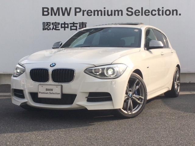 BMW 1シリーズ M135i ブラックレザー ガラスサンルーフ ...