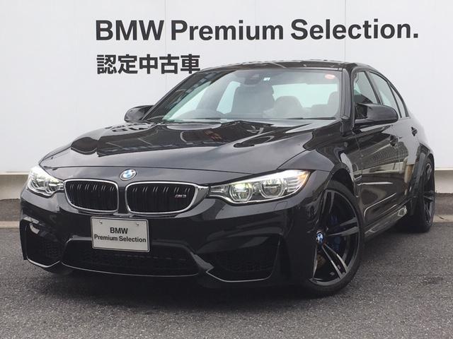 BMW M3 ホワイトレザー デモカー