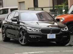 BMW750i Mスポーツ ワンオーナー 白革 SR 3Dビュー