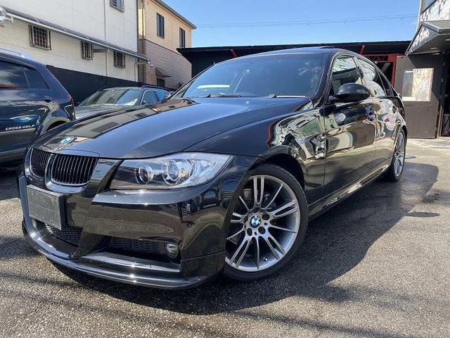 BMW 3シリーズ 325i Mスポーツパッケージ ナビ/サンルーフ/社外マフラー/ミラーインETC/コンフォートアクセス/パドルシフト/フロントスポイラー/18インチアルミ/プッシュスタート/キセノンヘッドライト