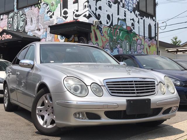 メルセデス・ベンツ E240 社外HDD 地デジ レザーステアリング