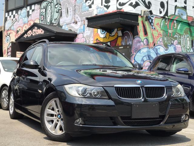 BMW 320iツーリング 社外HDDナビ サンルーフ Bカメラ