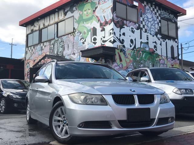 BMW 320iツーリング 社外ナビ Bカメラ ETC