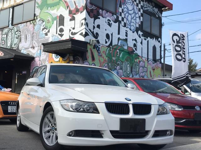 BMW 320i 社外ナビ 16AW Pシート ETC Bカメラ