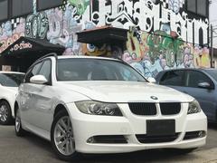 BMW320iツーリング 社外ナビ アルミ