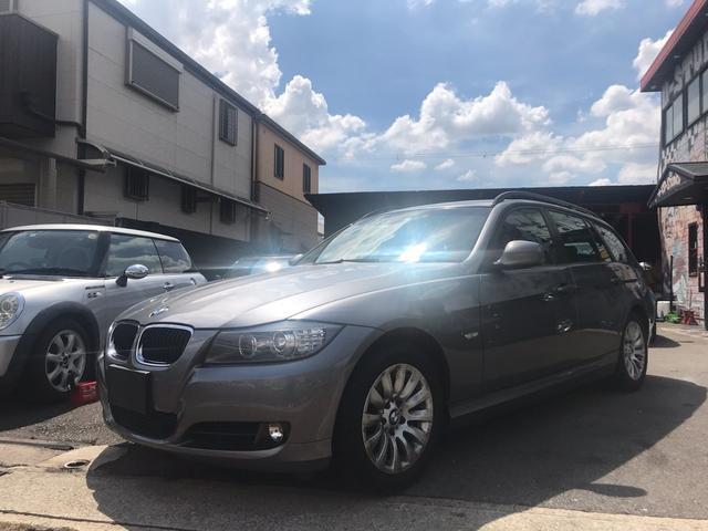 BMW 320iツーリング ハイライン ナビ 革 ETC