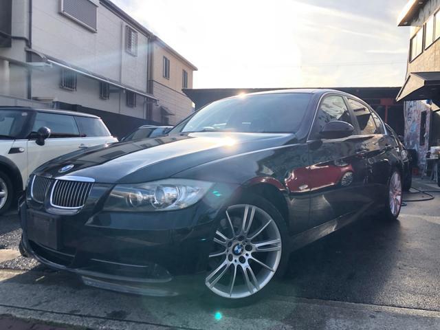 BMW 330i ハイライン ナビ 革 HID AW
