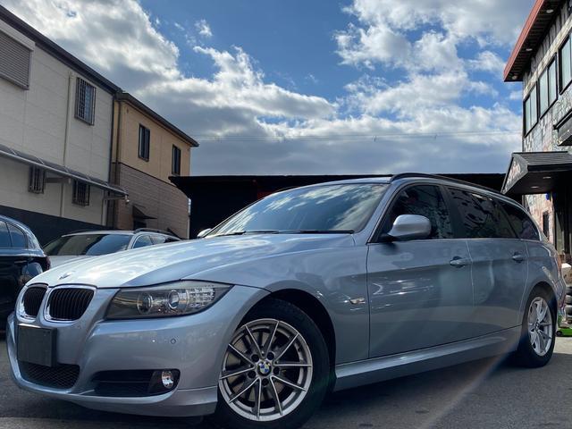 BMW 320iツーリング ハイライン ワンオナ 地デジ HID 革