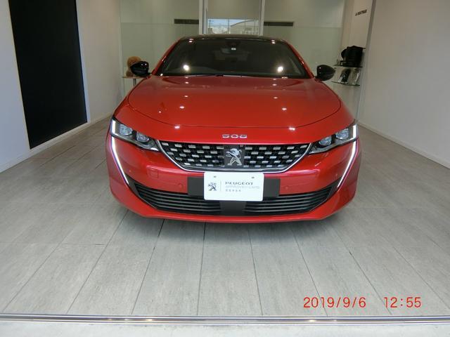 プジョー GT ブルーHDi レザーシート 18インチアルミホイール