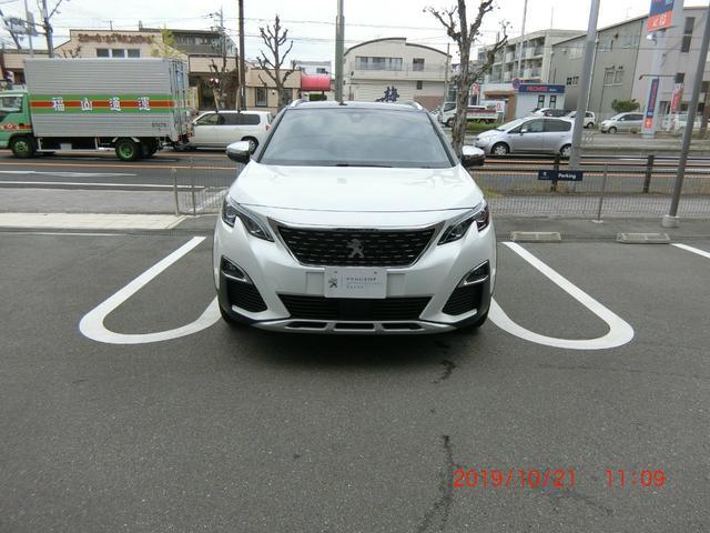 プジョー GT ブルーHDi ハーフレザーシート レーンアシスト