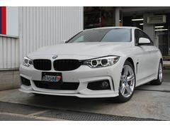 BMW420iグランクーペ Mスポーツ 黒レザー 地デジ ACC