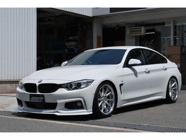 BMW 420GCMスポーツ黒革地デジendccWORK車高調
