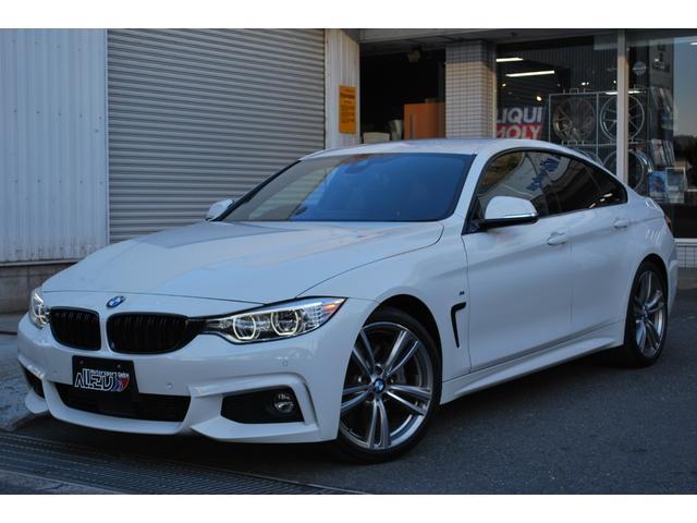 BMW 435iグランクーペ Mスポーツ LEDライト&フォグライト.黒革.地デジ.ACC.ヘッドアップディスプレイ.MパフォーマンスRディフューザー.19インチホイール
