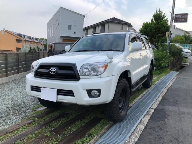 トヨタ SSR-Xリミテッド 新品グッドリッチタイヤ リフトアップ