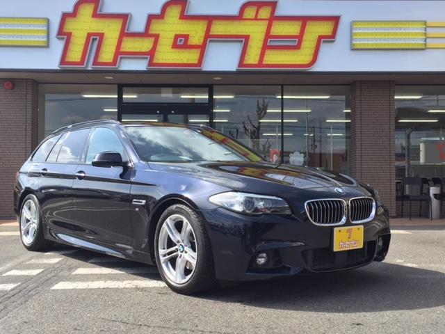 BMW 523dツーリング Mスポーツ純正HDDナビBカメラ禁煙