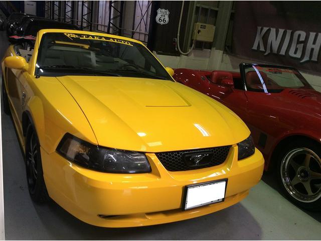 フォード Gコンバーチブル 全塗装 レンタカーアップ