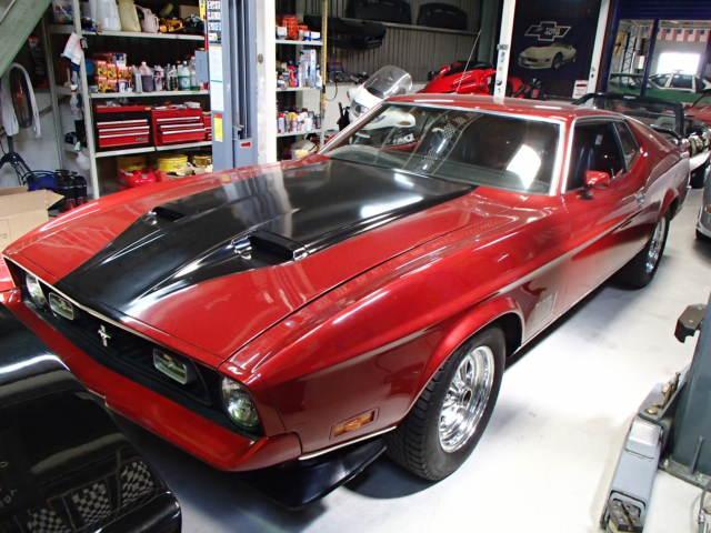 フォード マッハ1 日本未登録 351C  4バレ エンジン