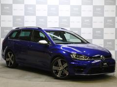 VW ゴルフRヴァリアント禁煙車 1オーナー 純正SDナビ フルセグTV 自動ブレーキ