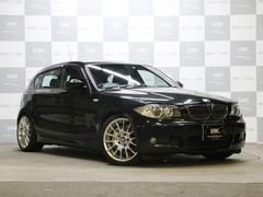 BMW130i Mスポーツ 禁煙 黒革 HDDナビ TEINサス