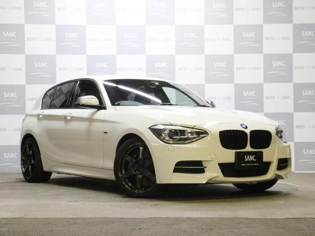 BMW M135i 禁煙 黒革 純正ナビ Bカメラ シートヒーター
