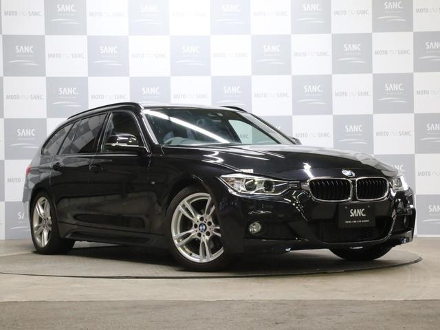 BMW 320iツーリング Mスポーツ禁煙1オナ 地デジ 電動ゲート