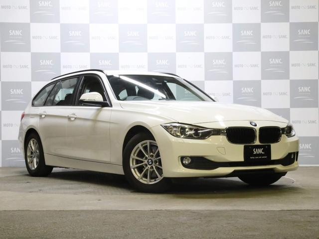 BMW 320dツーリング禁煙1オナ電動リアゲート純正ナビBカメラ
