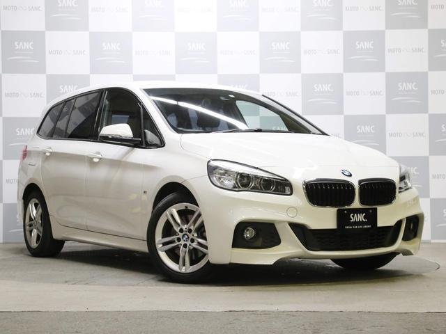 BMW 218dグランツアラー Mスポーツ 禁煙1オナ 電動Rゲート