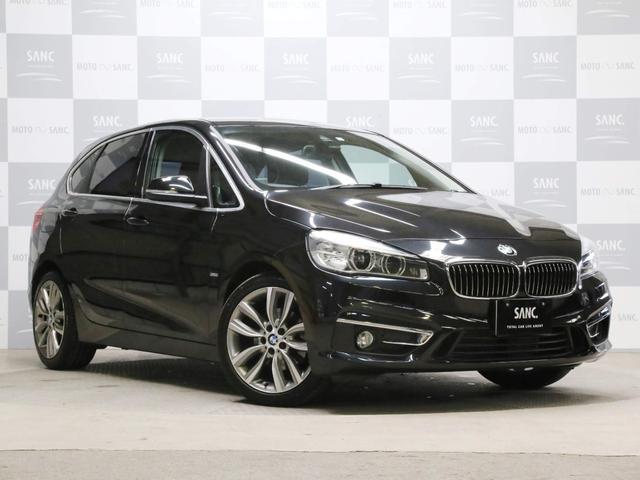 BMW 218dアクティブツアラーラグジュアリー禁煙1オナ電動ゲート
