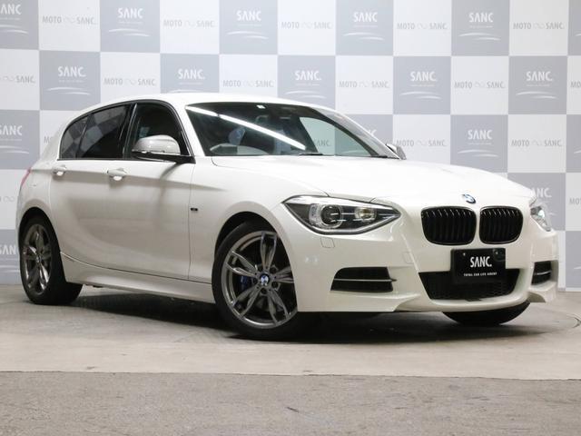 BMW M135i 禁煙 黒革 ドラレコ 取説スペアキー記録簿