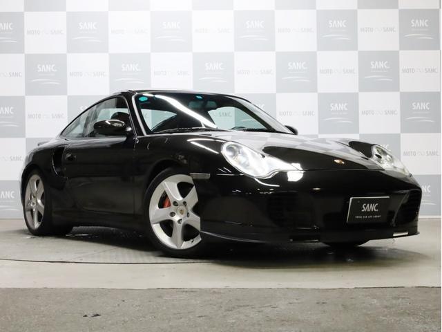 ポルシェ 911 911ターボ カーボンインテリア バイキセノン スポーツテクノ18インチAW 黒革シート DVD再生 フルセグTV ETC