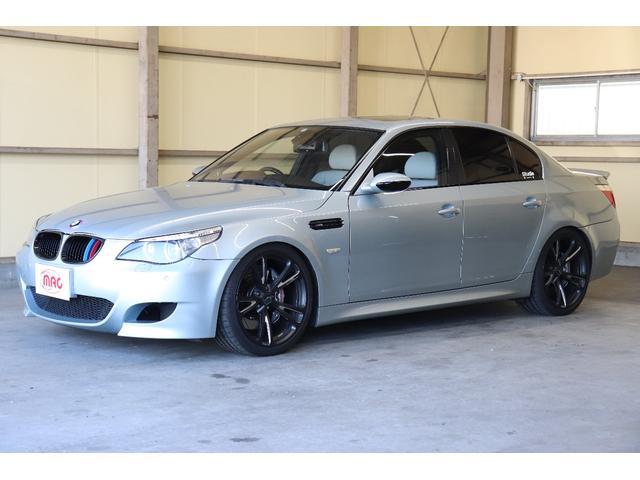 BMW M5 AC3鍛造20インチ KW車高調 パワークラフトマフラ