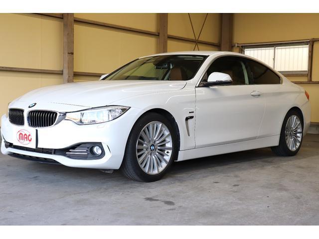 BMW 420iクーペ ラグジュアリー ブラウンレザーシート