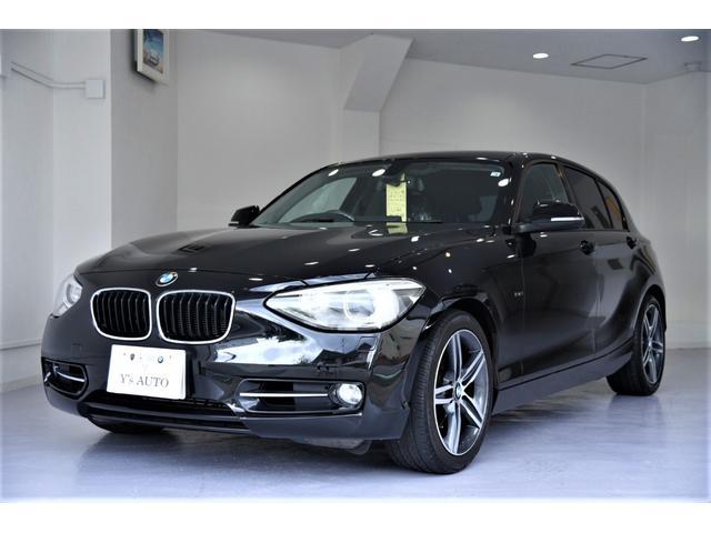 BMW 1シリーズ 120iスポーツ 専用17AW 赤ステッチ  クリーニング済