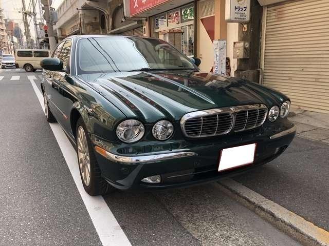 ジャガー XJ8 3.5 DVDナビ レザーシート シートヒーター