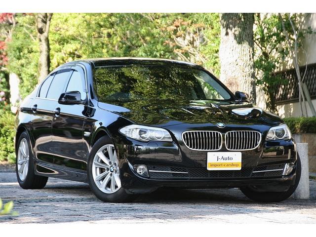 BMW 523i ハイラインパッケージ・車庫保管・記録簿・革シート