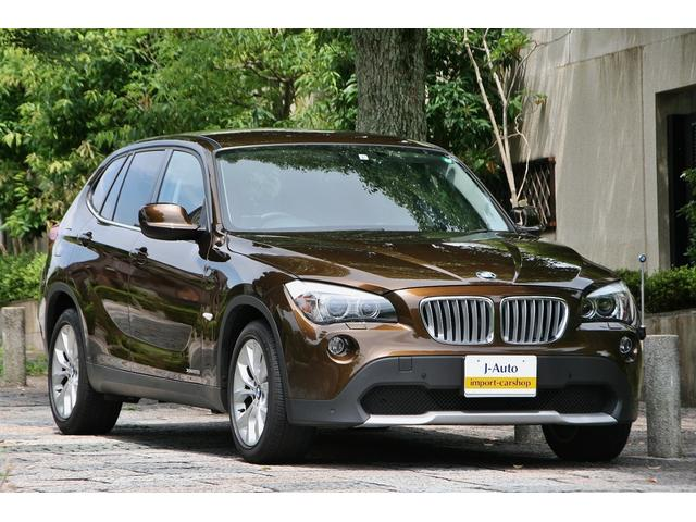 BMW X1 xDrive 25i ハイラインパッケージ・赤茶レザーシート・ワンオーナー車・iDriveナビ・バックカメラ